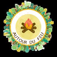 logo autour du feu forest school